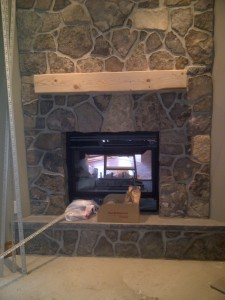 Fireplace Side 2