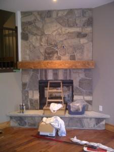 Fireplace Side 1