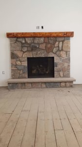 gas fireplace restoration
